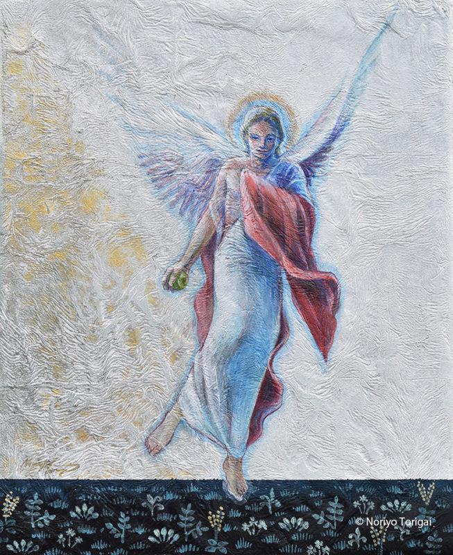 地上に舞い降りる天使